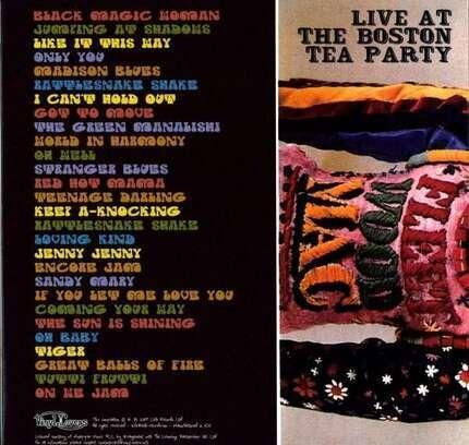 #<Artist:0x00007f0e6d2eb828> - Live At The Boston Tea Party 1970