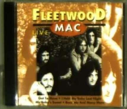 #<Artist:0x00007f4e324910b0> - THE GREAT FLEETWOOD MAC LIVE