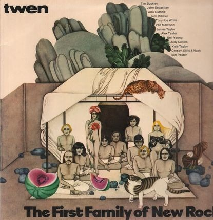 #<Artist:0x00007f3eaec6d718> - The First Family Of New Rock
