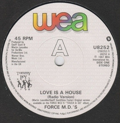 #<Artist:0x00007fcec35342d0> - Love Is a House
