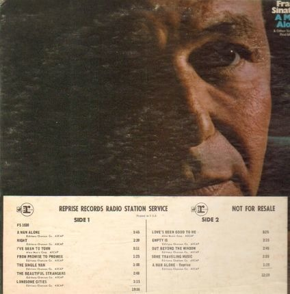 #<Artist:0x00007f4a84cc0cd8> - A Man Alone & Other Songs Of Rod McKuen