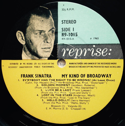 #<Artist:0x00007fcec1feb720> - My Kind of Broadway