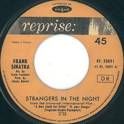 #<Artist:0x00007f814c50cb50> - Strangers in the Night