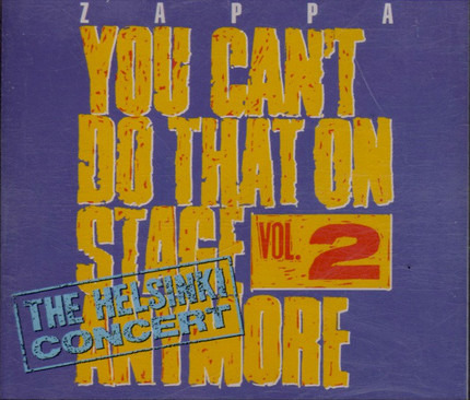#<Artist:0x00007f410d31a510> - You Can't Do That On Stage Anymore Vol. 2