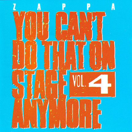 #<Artist:0x00007f115d1621a8> - You Can't Do That On Stage Anymore Vol. 4
