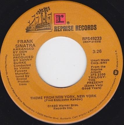 #<Artist:0x00007f8cd2e86668> - Theme From New York, New York