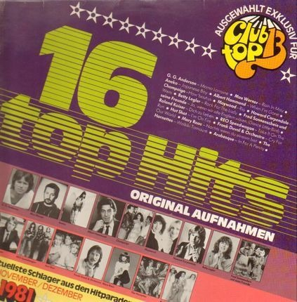 #<Artist:0x00007fce1420b798> - Club Top 13·6·1981