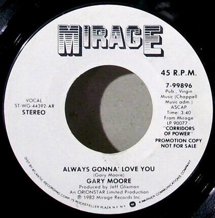 #<Artist:0x00007fb9f00c3058> - Always Gonna Love You / Rockin' Every Night