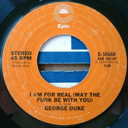 #<Artist:0x00007fceb90b2248> - I Am For Real (May The Funk Be With You) / Say That You Will