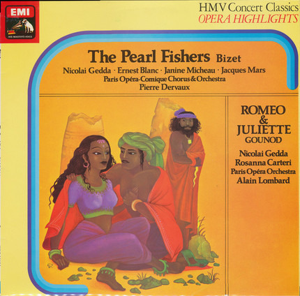 #<Artist:0x00007f412f952ca8> - The Pearl Fishers / Roméo & Juliette