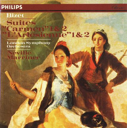 """#<Artist:0x00007f410dd5bf88> - Suites """"Carmen"""" 1 & 2 • """"L'Arlésienne"""" Suites 1 & 2"""