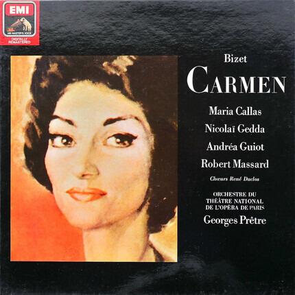 #<Artist:0x00007f412ef7ae88> - Carmen,, Callas, Gedda, Guiot, Massard, Paris, Pretre