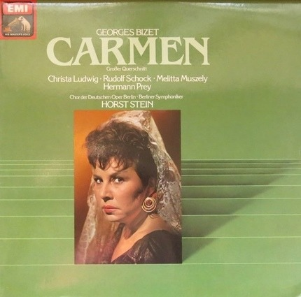 #<Artist:0x00007f412fbedd28> - Carmen (Horst Stein, Christa Ludwig,..)