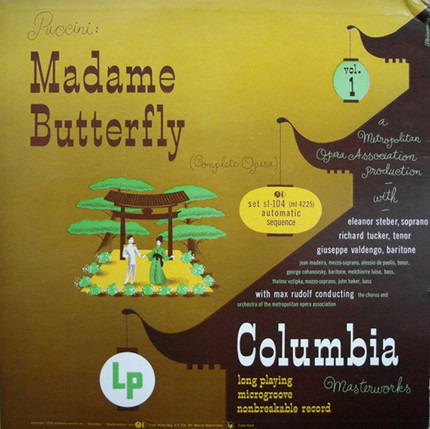 #<Artist:0x00007f80fa803b80> - Madama Butterfly