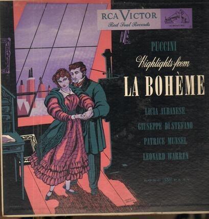 #<Artist:0x00007f5d29e60748> - Highlights From La Bohème
