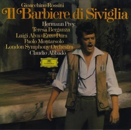#<Artist:0x00007f4130c51660> - Il Barbiere Di Siviglia (Hermann Prey, Claudio Abbado)