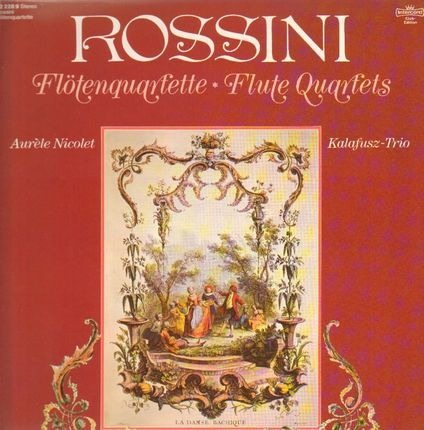 #<Artist:0x00007f4110885808> - Flötenquartette - Flute Quartets