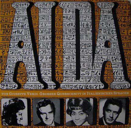 #<Artist:0x00007efefb891718> - Aida • Grosser Querschnitt In Italienischer Sprache