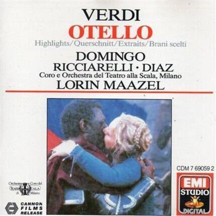 #<Artist:0x00007f7413eead20> - Otello - Highlights
