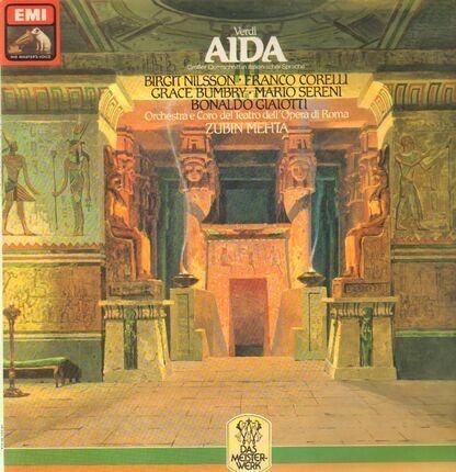 #<Artist:0x00007f412eae57b0> - Aida (Grosser Querschnitt In Italienischer Sprache)