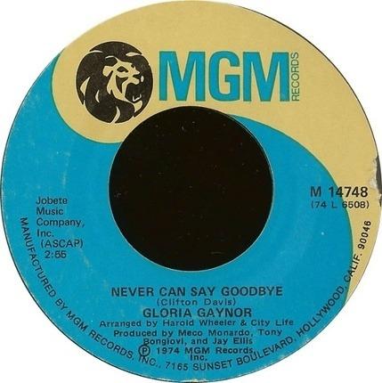 #<Artist:0x0000000008af7f28> - Never Can Say Goodbye