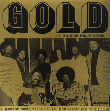 #<Artist:0x00007fea995f7d10> - Lost Treasure From 1974: A 24K Nugget Of Previously Unreleased Psychedelic Soul