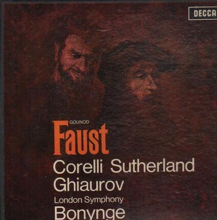 #<Artist:0x00007f41105d4d20> - Faust (Corelli, Sutherland, Ghiaurov, Bonynge)
