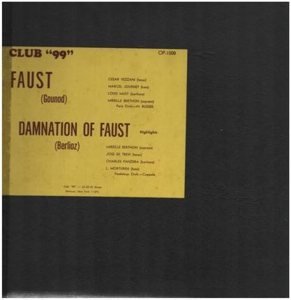 #<Artist:0x00007f410f667a68> - Faust, Damnation of Faust