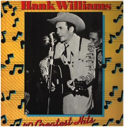 #<Artist:0x00007f740dc8bdf0> - Hank Williams - 40 Greatest Hits