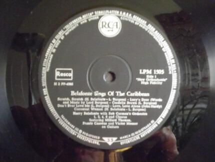 #<Artist:0x00000000083e34d0> - Belafonte Sings of the Caribbean