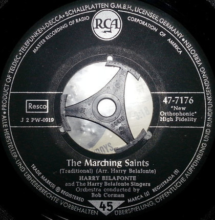 #<Artist:0x00000000068be0d8> - The Marching Saints / Did You Hear About Jerry