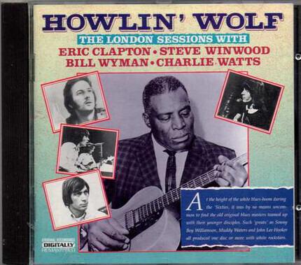 #<Artist:0x00007f6c15ad1c58> - The London Sessions With Eric Clapton, Steve Winwood, Bill Wyman & Charlie Watts
