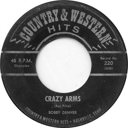 #<Artist:0x00007f740cc8f690> - Happy To Be Unhappy / Crazy Arms
