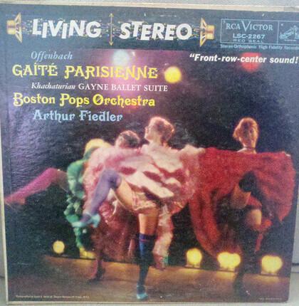 #<Artist:0x00007f412d90f018> - Gaîté Parisienne · Gayne Ballet Suite