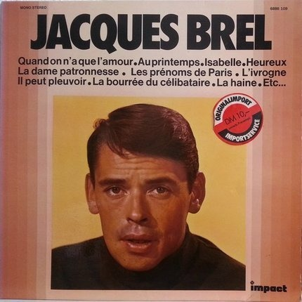 #<Artist:0x00007f40f75baee8> - Jacques Brel