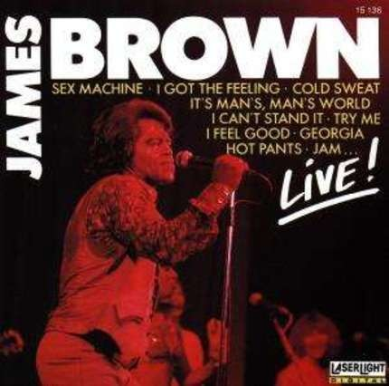 #<Artist:0x00007f3a506ab558> - James Brown -Live-