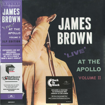 #<Artist:0x00007fb52d09d500> - Live At The Apollo - Volume II