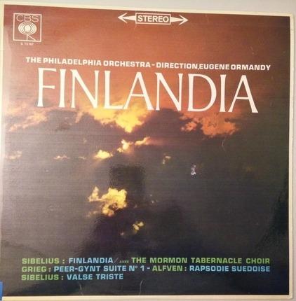 #<Artist:0x00007fce08adc798> - Finlandia - Valse Triste / Peer Gynt / Rapsodie Suédoise