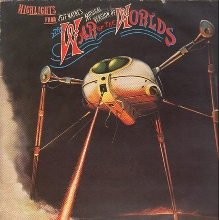 #<Artist:0x00007f34f519ac40> - Highlights From Jeff Wayne's Musical Version Of The War Of The Worlds