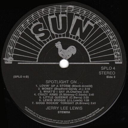 #<Artist:0x00007fcec36a74c8> - Spotlight On... Jerry Lee Lewis