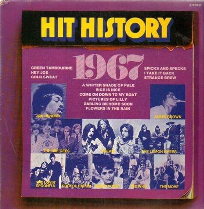 #<Artist:0x00007f7df3ab8420> - Hit History 1967