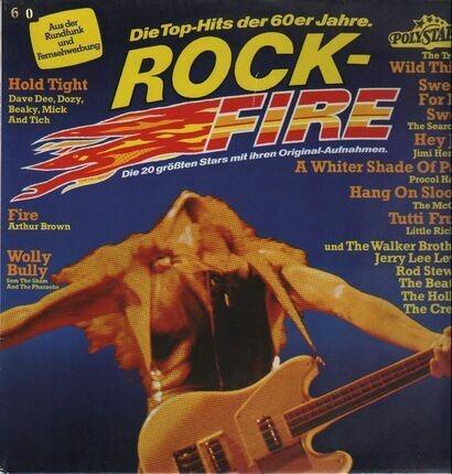 #<Artist:0x00007f412db11bb8> - Rock-Fire - Die Top-Hits Der 60er Jahre