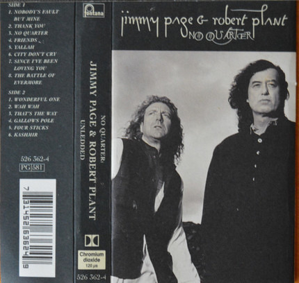 #<Artist:0x00007f1e639e7c20> - No Quarter: Jimmy Page & Robert Plant Unledded