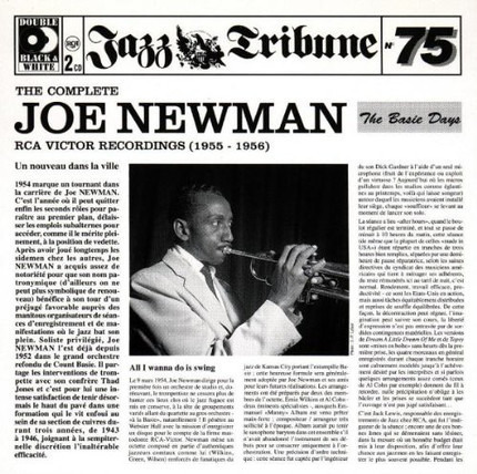 """#<Artist:0x00007fcec30a8630> - The Complete Joe Newman RCA Victor Recordings (1955-1956) """"The Basie Days"""""""