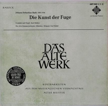 #<Artist:0x00007fe644761150> - Die Kunst der Fuge