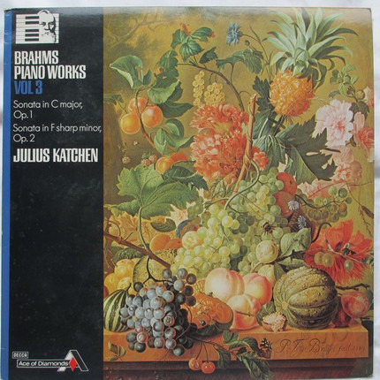 #<Artist:0x00007f4104ae0d20> - Brahms Piano Works Vol. 3