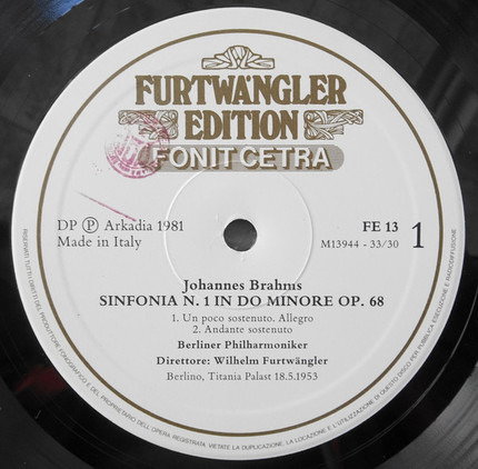 #<Artist:0x00007f674d29d7c0> - Sinfonia N.1 In Do Minore Op. 68