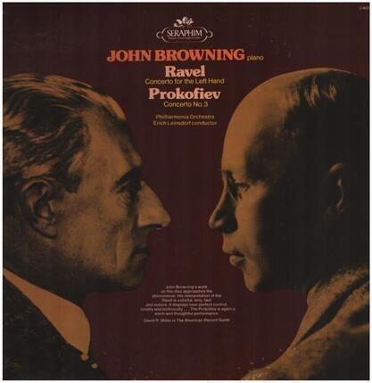 #<Artist:0x00007f9e3ac05528> - Ravel: Concerto For The Left Hand / Prokofiev: Concerto No. 3