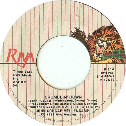 #<Artist:0x00007fceb83514c8> - Crumblin' Down