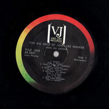 #<Artist:0x00007fcee1c1be68> - The Big Soul of John Lee Hooker